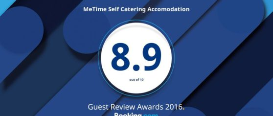 Me Time rated 8.9/10 by Booking.com guests