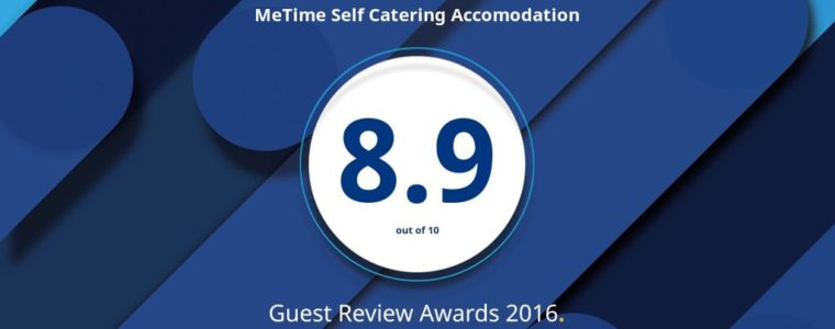MeTime rated 8.9/10 by Booking.com guests
